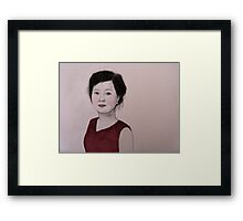 Beijing Girl  Framed Print