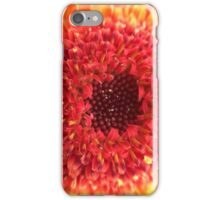 Red & Yellow Gerbera iPhone Case/Skin