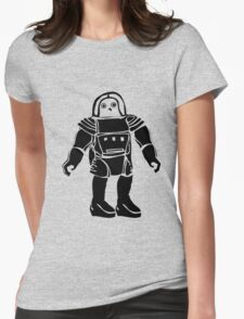 Boris the space chicken Womens Fitted T-Shirt