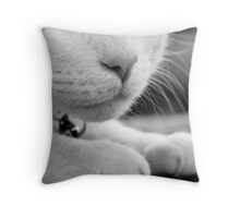Elvis in repose Throw Pillow