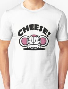 "Funny ""Say Cheese"" mouse T-Shirt"