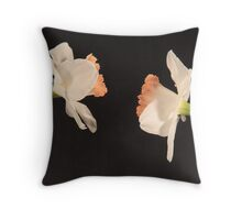 Narcissus, Daffodil Throw Pillow
