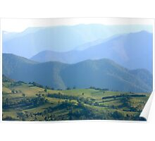 Lower Kanimbla Valley in the Afternoon Sun Poster