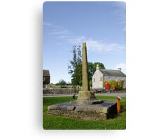 The Village Cross, Monyash Canvas Print