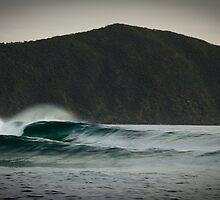 Unravelling - South Cape Bay, Tasmania by Liam Byrne