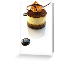 Tiramisu Greeting Card