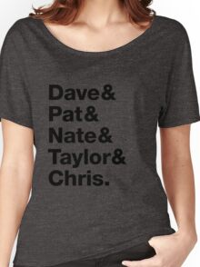 Foo Fighters • Dave & Pat & Nate & Taylor & Chris. Women's Relaxed Fit T-Shirt