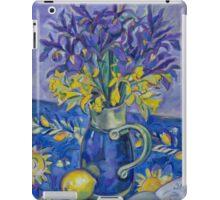 Iris and Daffodil iPad Case/Skin