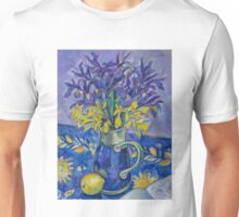 Iris and Daffodil Unisex T-Shirt