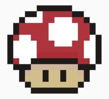 Red Mario Mushroom by Neysa Tapanes