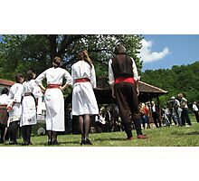 Folklore in line Photographic Print