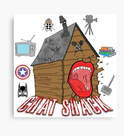 podcast Chat Shack Canvas Print