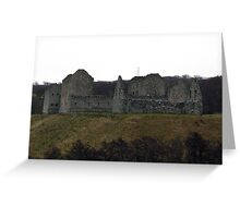 Ruins in Cairngorms Greeting Card
