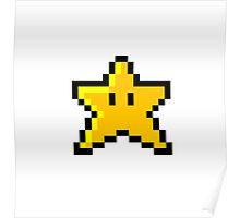Mario Star Poster