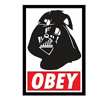 OBEY Vader Photographic Print