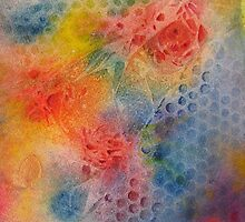 Roses into space by Beatrice Cloake
