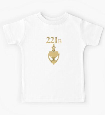 221B Baker Street - Sherlock Holmes Kids Tee