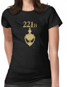 221B Baker Street - Sherlock Holmes Womens Fitted T-Shirt