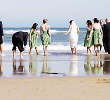 Bridal Party at Torquay by Louisa Jones