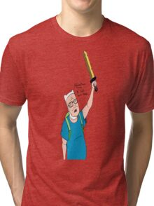 King of the Adventure Time Hill Tri-blend T-Shirt