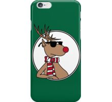 Chillin' Rudolph the Red Nosed Reindeer iPhone Case/Skin