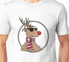 Chillin' Rudolph the Red Nosed Reindeer Unisex T-Shirt