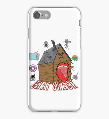 podcast Chat Shack iPhone Case/Skin