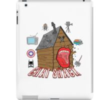 podcast Chat Shack iPad Case/Skin