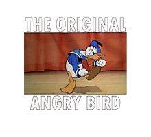 The Original Angry Bird (Donald Duck) Photographic Print