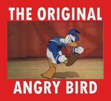 The Original Angry Bird (Donald Duck) One Piece - Short Sleeve