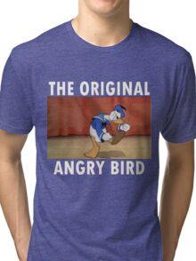 The Original Angry Bird (Donald Duck) Tri-blend T-Shirt