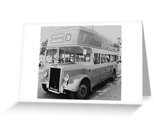Vintage Transport Greeting Card