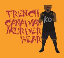 the canadian murder bear by rafzombie