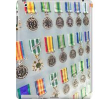Medal Row, Shrine of Remembrance - Melbourne, Victoria iPad Case/Skin