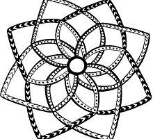 Geometric mandala by Abbigaildee