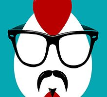 Hipster Chicken by CarCatchers1