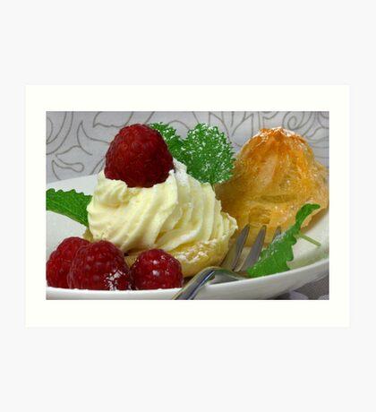 Fruity, Creamy, Light  Art Print