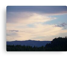 Table Rock Lookout   Canvas Print