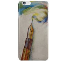 Fountain Pen iPhone Case/Skin