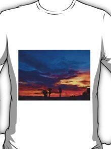 Multi Color Sunset T-Shirt