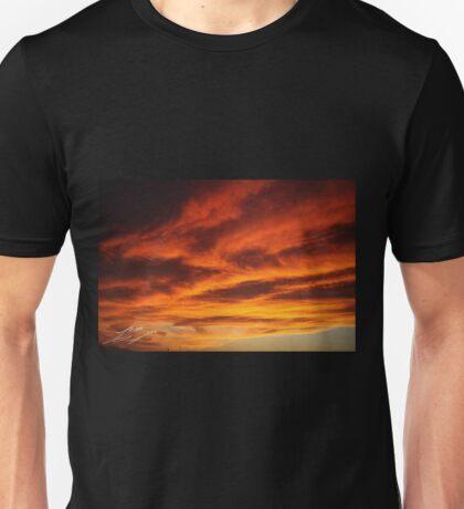 Mediterranean Sunset Unisex T-Shirt