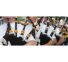 Bagpipers Four Photographic Print