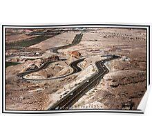 Abu Dhabi - hills Poster
