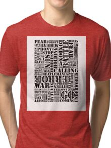 Writer's Block • London Calling Tri-blend T-Shirt