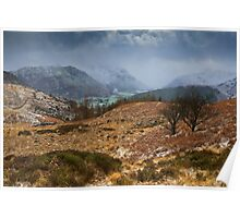 Snowstorm Over Borrowdale Poster