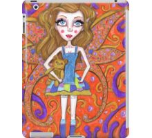 Colorful, big eyes, fairy art, doll baby iPad Case/Skin
