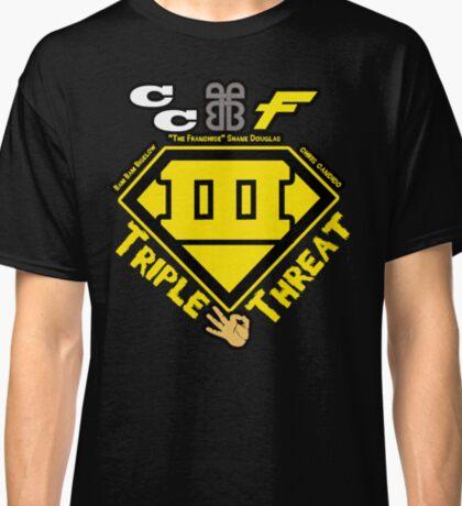 ECW Triple Threatt V2 Classic T-Shirt