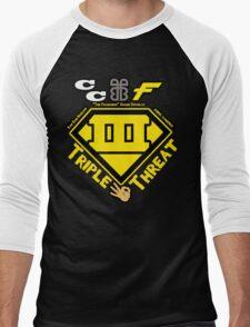 ECW Triple Threatt V2 Men's Baseball ¾ T-Shirt