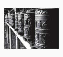 Prayer Wheels at Earth Sanctuary Whidbey Island Kids Clothes