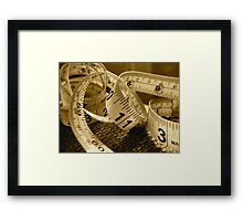 Counting Framed Print